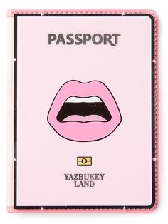 Shop Yazbukey 'C'est ahh' passport case in Smets from the world's best independent boutiques at farfetch.com. Over 1500 brands from 300 boutiques in one website.