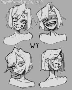 Albums Pҿta fǿr pe @ p] e Face Drawing Reference, Drawing Base, Drawing Reference Poses, Hand Reference, Anatomy Reference, Figure Drawing, Drawing Face Expressions, Smile Drawing, Gesture Drawing
