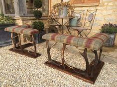 Antler Fire Fender Seats - Balmoral - The Flying Fox Decor, Furniture, Victorian Homes, Country Style Living Room, Fireplace Accessories, Temporary Decorating, Victorian Style Homes, Fireplace Fender, Living Room Goals