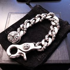 Chrome Hearts Bracelet- Always Have To Have Two Of These In My Personal Stock At All Times