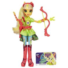 Friendship Games Sporty Style Deluxe Applejack Archery Doll