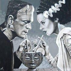 Frankestian y su novia
