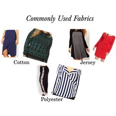 COMMONLY USED FABRICS FROM PLUS SIZE RETAILERS AND DESIGNERS