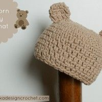 Newborn Baby Bear Hat May 17, 2014 ~ 9 Comments
