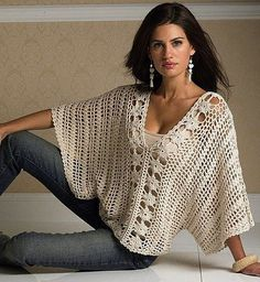 Crochet Top PDF Pattern only - a crochet spring/summer crochet blouse sold by AsDidy on Storenvy - This is just the pattern for this item. It is easy to make and can be done in differnet sizes. The pattern is PDF format For more information - convo me Pull Crochet, Gilet Crochet, Mode Crochet, Crochet Jacket, Crochet Blouse, Crochet Shawl, Crochet Stitches, Knit Crochet, Crochet Patterns