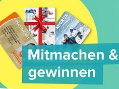 Gewinne mit Migros drei Intercity Jahres-Abos (Fitness-, Wellness- und Aquaparks der Migros) im Wert von je 1'420.-!  Dazu gibt es im Wettbewerb Migros Gutscheine im Wert von 100.- und 50.- zu gewinnen.  Gewinne hier: http://www.gratis-schweiz.ch/gewinne-intercity-jahres-abos/  Alle Wettbewerbe: http://www.gratis-schweiz.ch/