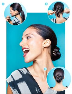 Why You Should Trade In Your Basic Hair Tie For A Bungee #refinery29  http://www.refinery29.com/bungee-hair-ties