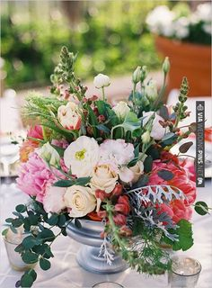 wedding centerpieces by  photo by | CHECK OUT MORE IDEAS AT WEDDINGPINS.NET | #weddings #weddingflowers #flowers