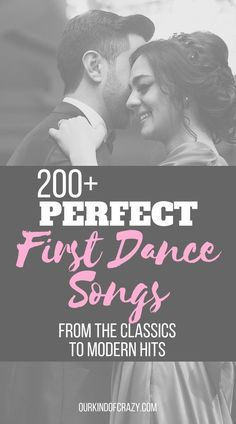 Over 200 Top First Dance Song Ideas.from the Classics to modern hits. Looking for a great wedding song to play for your first dance? Want a modern first dance song or maybe more of a classic first dance? Here's a list of over 200 songs to choose from. Great Wedding Songs, First Dance Wedding Songs, The Wedding Singer, Wedding Music, Wedding Tips, Wedding Planning, Classic Wedding Songs, Crazy Wedding, Vestidos