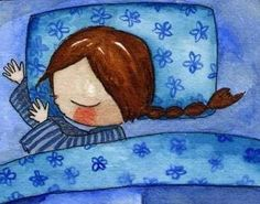 Sleeping Safe and Sound Art Drawings For Kids, Cool Drawings, Art For Kids, Mini Doodle, Doodle Doo, Illustration Story, Illustration Children, Watercolor Paintings For Beginners, Sleeping Animals