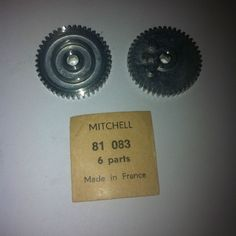 ONE NEW MITCHELL REEL 400 410 440 PART # 81 083. NOS, MINT CONDITION Fishing, Mint, Peppermint, Peaches, Gone Fishing