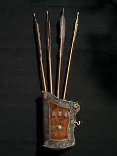 ancient #manchu #arrows and #quiver
