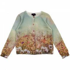 Multicoloured Flower Cardigan PAUL SMITH