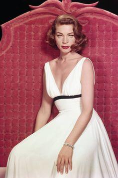 In Photos: Lauren Bacall's Effortless Glamor  - ELLE.com