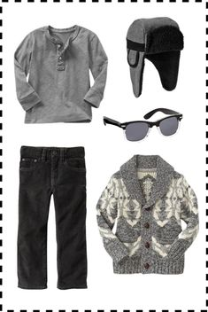 babyGap Toddler Boys Fall Outfit