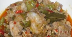 Masakan Indonesia Resep Babi Rica Rica Dayak Resep Babi Makanan Masakan Indonesia