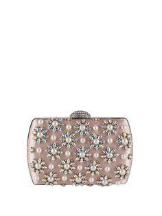 Shop Clutches - Apricot Clasp Lock Evening Clutch online. Discover unique designers fashion at StyleWe.com.