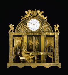 Neoclassical Regency Clock 1807-1810