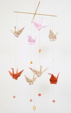 We could use the cranes from our wedding reception!  Absolutely doing this!