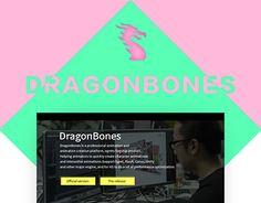 "Check out new work on my @Behance portfolio: ""DragonBones_web"" http://be.net/gallery/46096617/DragonBones_web"