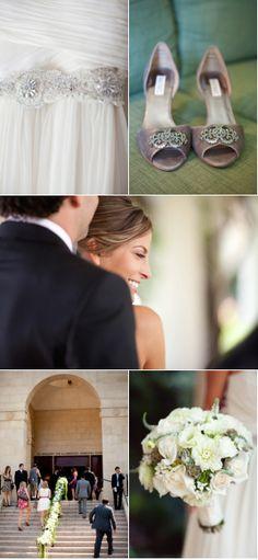 www.stores.ebay.com/the-paisley-petunia has these dresses Wedding Dress: J.Crew / Bride's Belt: Romona Keveza / Bride's Shoes: Badgley Mischka