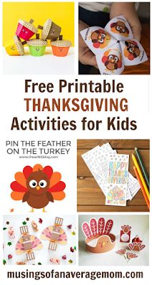 Free printable thanksgiving activities for kids Thanksgiving In Canada, Free Thanksgiving Printables, Thanksgiving Activities For Kids, Thanksgiving Parties, Fun Activities For Kids, Holiday Activities, Thanksgiving Ideas, Free Printables, Paper Crafts For Kids