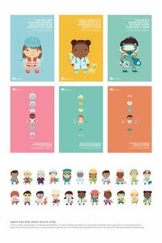 """Tvo : """"SMART KIDS NOW. SMART ADULTS LATER."""" Design & Branding  by Leo Burnett, Toronto"""