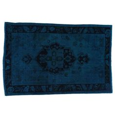"Image of Overdye Vintage Turkish Rug - 5'-11"" x 8'-10"""