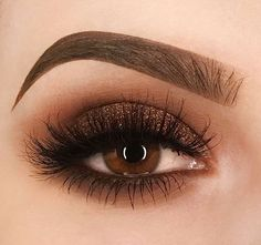 Brown bronze smokey eyeshadow Augen Make-up ., Eye make up Brown bronze smokey eyeshadow Augen Make-up . Golden Eye Makeup, Orange Eye Makeup, Dramatic Eye Makeup, Cat Eye Makeup, Simple Eye Makeup, Eyeshadow Makeup, Bronze Eyeshadow, Makeup Brushes, Face Makeup