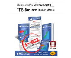 This step–by–step Facebook Training Guide is going to take business owners by the hand and show them how to safely skyrocket their Business Online Presence in the shortest time ever by using Facebook.