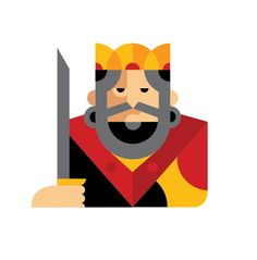 Playing Cards Characters 2 by Samir , via Behance