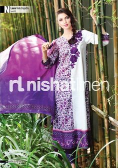Nishat linen has revealed their superb and very eye catching spring summer collection just now.