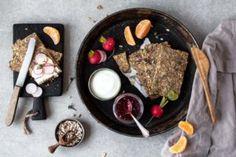 glutenfreies Knäckebrot ohne Sesam | Freiknuspern