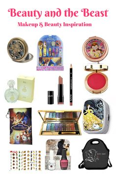 Beauty and the Beast makeup and beauty inspiration.