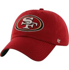'47 Men's San Francisco 49ers Franchise Fitted Red Hat | DICK'S Sporting Goods