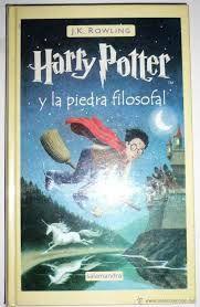 Resultado de imagen de harry potter y la piedra filosofal libro