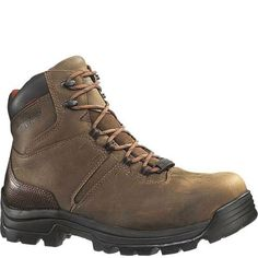 WOLVERINE MENS WORK BROWN W04417