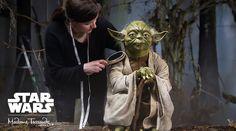 Exposición de Star Wars en el museo de cera: Madame Tussauds de Londres