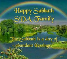 Happy Sabbath to the World