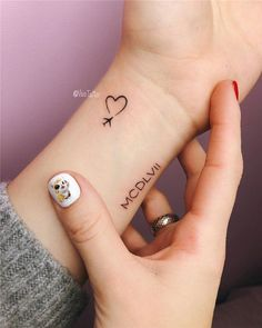 76 cute little tattoos ideas every girl wants to get in 2019 . - 76 cute little tattoos ideas every girl wants to receive in 2019 - Tattoo Girls, Tattoo For Baby Girl, Tiny Tattoos For Girls, Small Heart Tattoos, Small Meaningful Tattoos, Small Wrist Tattoos, Tattoos For Women Small, Tattoos For Guys, Tattoo Baby