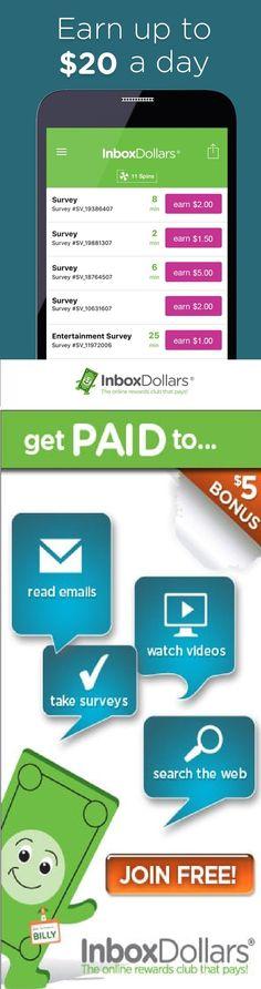 Earn Cash, not points. InboxDollars Join now and earn a 5.00  bonus! #shopping #affiliate #mlm #free #marketing #affiliatemarketing #makemoneyonline #marketingstrategy #conversions #survey #makemoney  #neteller #paidverts #forex #surveys #money  #paypal