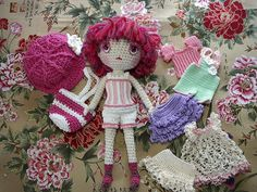 Free Spirit Amigurumi Doll ☺ Free Pattern ☺ This site is just amazing - all the variations you can do