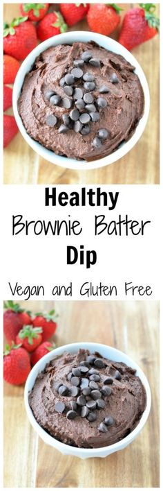 Try this Healthy Brownie Batter Hummus for a sweet snack. Only 4 simple ingred… Try this Healthy Brownie Batter Hummus for a sweet snack. Only 4 simple ingredients, and it comes with a boost of protein and fiber! Vegan and gluten free - Vegan Sweets, Healthy Sweets, Vegan Snacks, Vegan Desserts, Healthy Snacks, Dessert Recipes, Vegan Recipes, Cooking Recipes, Dessert Hummus Recipe