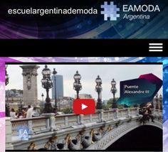 Diseño de moda Canal de la moda Eamoda Tv Primer canal de la moda online miralo por eamoda.tv #diseño #moda #arte #tendencia #paris #londres #eamoda #design #fashion