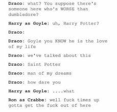 Drarry images, even if I don't ship them, this is great