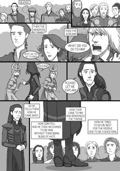 After Thor TDW - comic-fanfic - page 15 by DKettchen on DeviantArt Loki Avengers, Loki Thor, Marvel Funny, Tom Hiddleston Loki, Marvel Movies, Marvel Avengers, Loki Sad, Loki And Sigyn, Loki Drawing