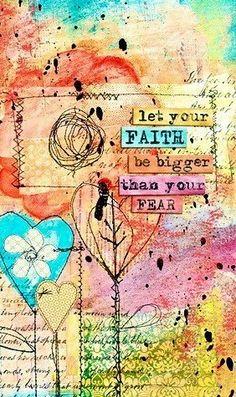 Faith quote via Carol's Country Sunshine on Facebook
