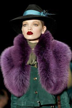 RedPoppy Fashion: Milan Fashion Week: GUCCI Fall 2011