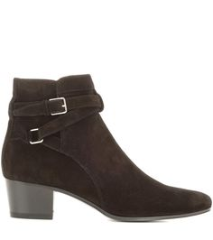 Blake 40 Jodhpur black suede ankle boots