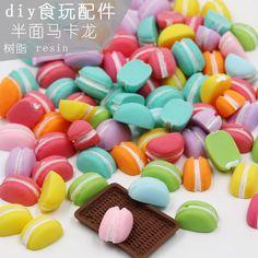 ジャムシミュレーションクリーム接着剤プラスチック樹脂アクセサリーDIYの携帯電話のシェル材料のパッケージの生産を手作りキャンディー色のマカロン